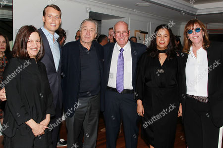 Amy Hobby, David Earls, Robert De Niro, Howard Rubin, Patty Jaramillo and Jane Rosenthal
