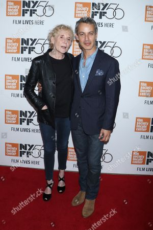 Claire Denis, director and Andrew Lauren, producer
