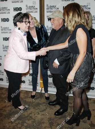 Stock Image of Kathy Bates, Billy Joel, Alexis Roderick, Sandra Lee
