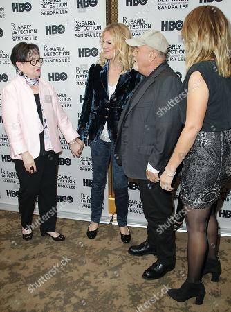 Kathy Bates, Billy Joel, Alexis Roderick, Sandra Lee