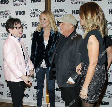 Editorial image of New York Screening of the HBO Documentary Film 'Rx: Early Detection - a Cancer Journey with Sandra Lee', USA - 02 Oct 2018