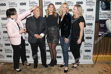 Kathy Bates, Billy Joel, Alexis Roderick, Sandra Lee and Kimber Lee