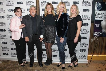 Stock Photo of Kathy Bates, Billy Joel, Alexis Roderick, Sandra Lee and Kimber Lee