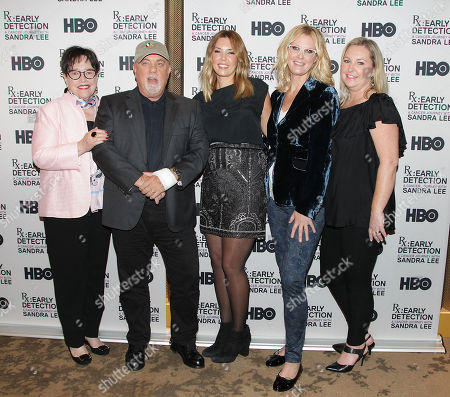 Stock Picture of Kathy Bates, Billy Joel, Alexis Roderick, Sandra Lee and Kimber Lee