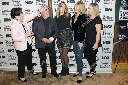 Editorial photo of New York Screening of the HBO Documentary Film 'Rx: Early Detection - a Cancer Journey with Sandra Lee', USA - 02 Oct 2018