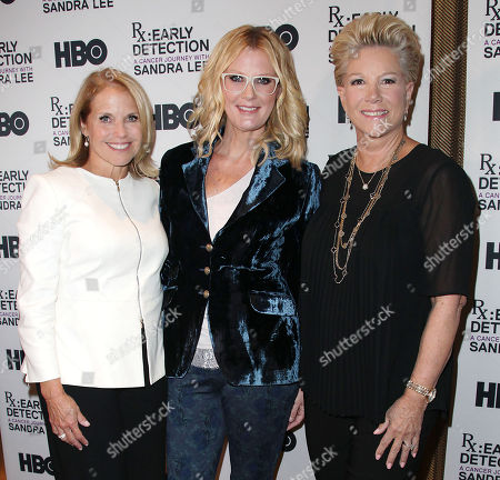 Katie Couric, Sandra Lee and Joan Lunden