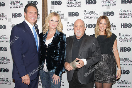Andrew Cuomo, Sandra Lee, Billy Joel and Alexis Roderick