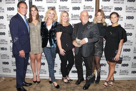 Andrew Cuomo, Mariah Kennedy Cuomo, Sandra Lee, Billy Joel, Alexis Roderick and Cara Kennedy Cuomo