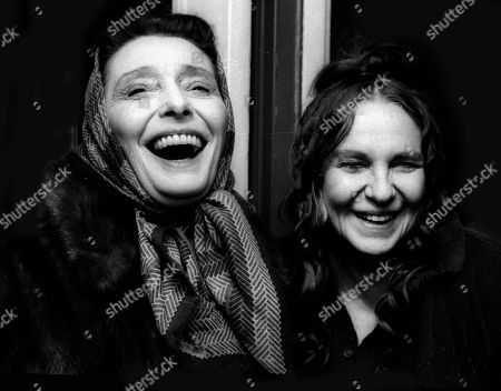 Patricia Neal and Geraldine Page