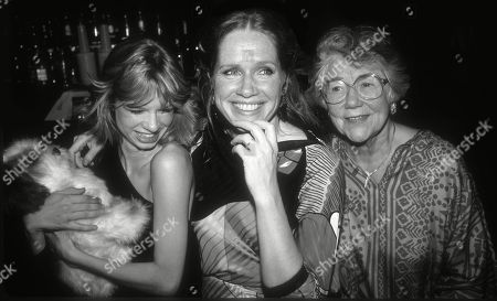 Liv Ullman with daughter Linn Ullman and Mother