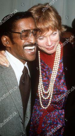 Sammy Davis Jr. and Shirley MacLaine