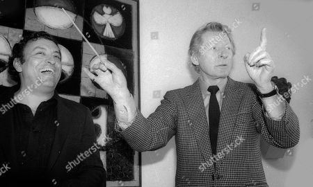 Zubin Mehta and Danny Kaye