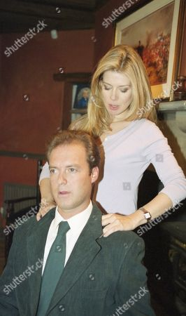 Ep 2655 Tuesday 22nd February 2000 Chris convinces Claudia that Zoe would probably be happy never to see him again. She feels sorry for him and as the conversation develops the two suddenly embrace. With Chris Tate, as played by Peter Amory ; Claudia Nash, as played by Susan Duerden.