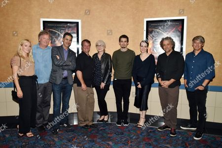 Damien Chazelle, Claire Foy, Josh Singer, Paul Lambert, Mildred Iatrou Morgan, Tom Cross