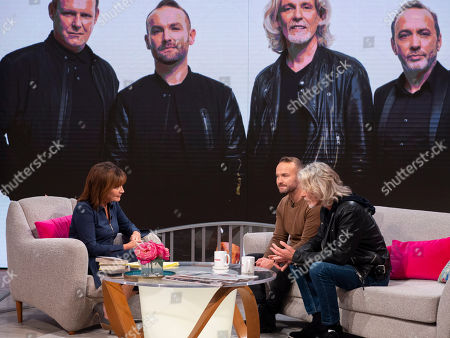 Lorraine Kelly, Kevin Simm and Graeme Clark