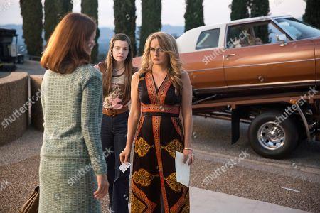 Elizabeth Bogush as Sherry, Makenna James as Becca Nolan, Alicia Silverstone as Bonnie Nolan