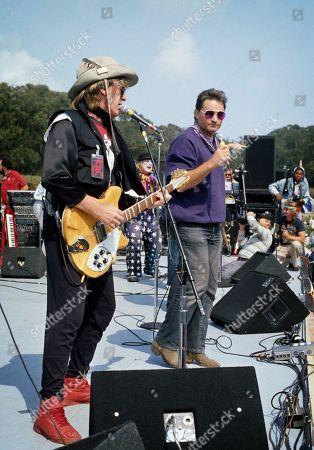Paul Kantner and Marty Balin