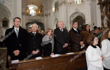 Editorial image of 30th death anniversary of Franz Josef Strauss, Rott Am Inn, Germany - 03 Oct 2018