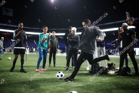 Editorial image of EA Sports FIFA 19 Launch, Paris, France - 24 Sep 2018