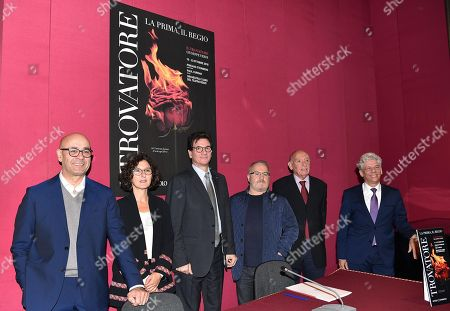 Editorial picture of Teatro Regio presents its upcoming season premieres, Turin, Italy - 03 Oct 2018