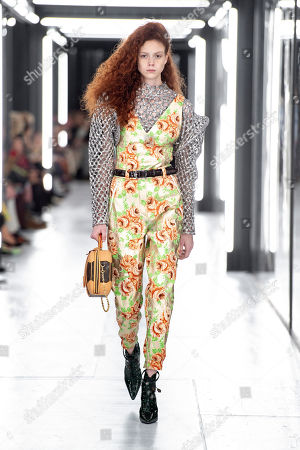 Editorial picture of Louis Vuitton show, Runway, Spring Summer 2019, Paris Fashion Week, France - 02 Oct 2018