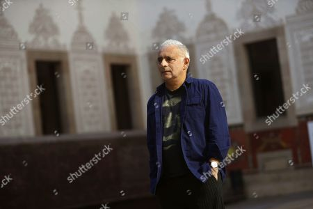 British-Pakistani writer Hanif Kureishi poses for photographers during presentation of his novel 'Nada de nada' (lit: Not at all) in the frame of the book festival 'Kosmopolis at the CCCB arts centre in Barcelona, northeastern Spain, 03 October 2018.
