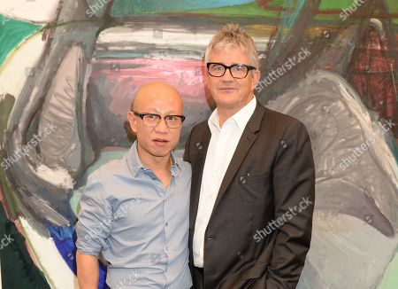 Liu Wei and Jay Jopling