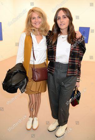 Avery Agnelli and Tania Fares