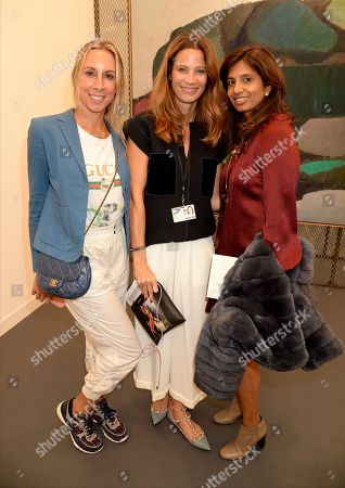 Editorial picture of Frieze VIP Preview, London, UK - 03 Oct 2018