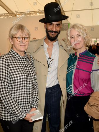 Anne Robinson, Jerome Kaino and Guest