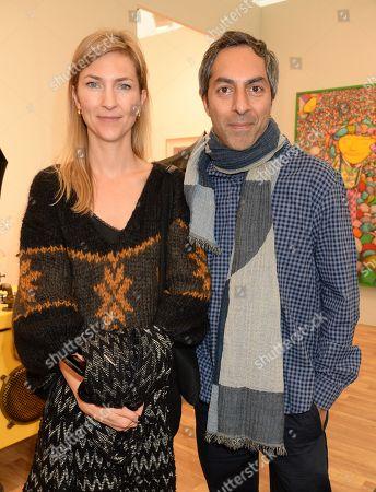 Stock Image of Miranda Dawood and Shezad Dawood