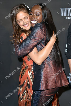 Stock Picture of Minka Kelly and Anna Diop