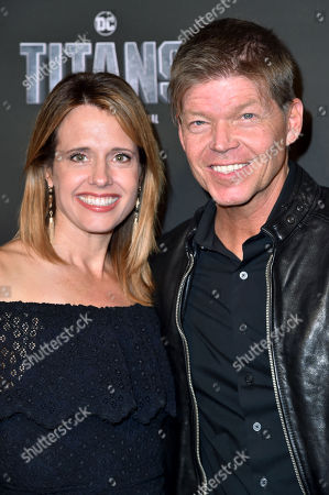 Joy Liefeld and Rob Liefeld