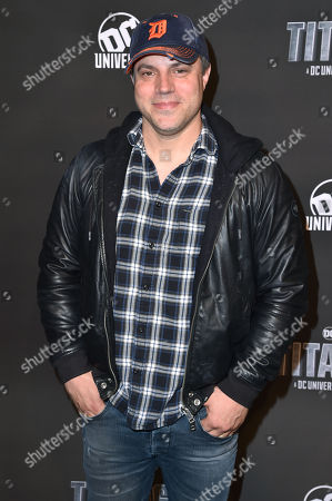 Stock Image of Geoff Johns