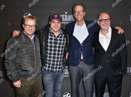 Editorial image of 'Titans' TV show premiere, Arrivals, New York Comic Con, USA - 03 Oct 2018