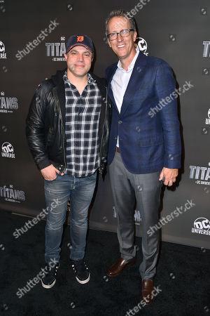 Editorial photo of 'Titans' TV show premiere, Arrivals, New York Comic Con, USA - 03 Oct 2018