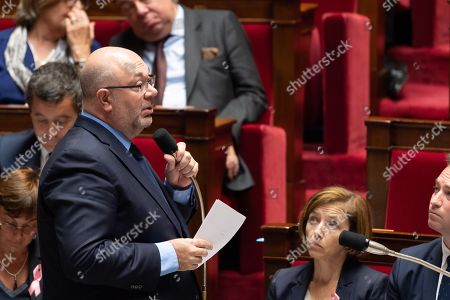 French Agriculture Minister Stephane Travert during the weekly session of questions to the government at the National Assembly