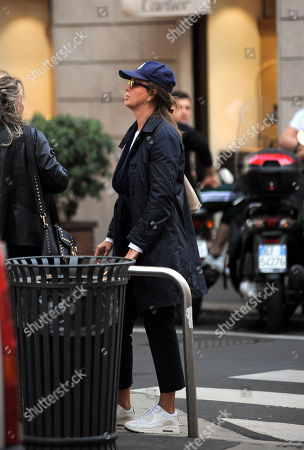 Editorial photo of Dalila Di Lazzaro out and about, Milan, Italy - 03 Oct 2018
