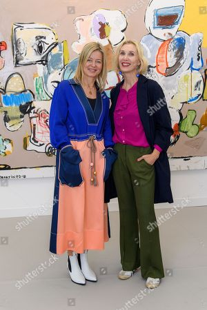 Lady Helen Taylor and Allegra Hicks