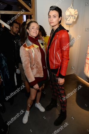 Editorial picture of '21st Century Women' exhibition VIP preview at Unit London, UK - 03 Oct 2018