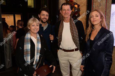 Vicken Parsons, Conrad Shawcross, Antony Gormley and Carolina Mazzolari