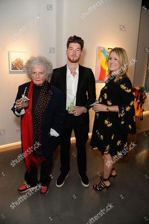 Maggi Hambling, Joseph Patrick Kennedy II and Jane Neal