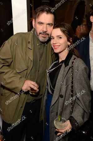 Roland Mouret and Lara Bohinc
