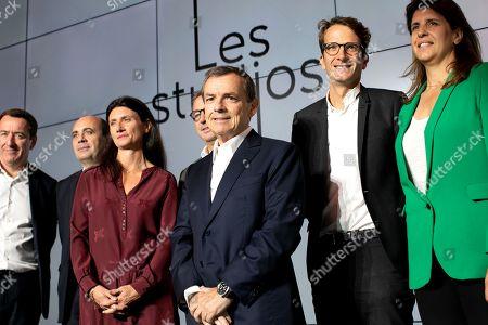 Francois Pesenti, Herve Beroud, Guenaelle Troly, Pierre Fraidenraich, Alain Weill, Damien Bernet, Cecilia Ragueneau
