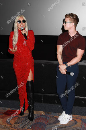 Lady Gaga and Tyler Oakey