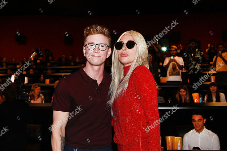 Tyler Oakey and Lady Gaga