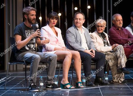 Manuel Velasco, Emmanuel Medina, Jordi Rebellon, Concha Velasco Cristina Abad