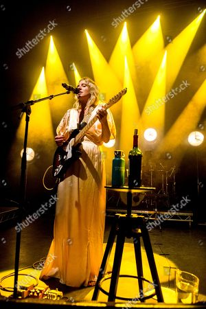 Editorial picture of Lissie in concert at O2 Shepherds Bush Empire, London, UK - 03 Oct 2018