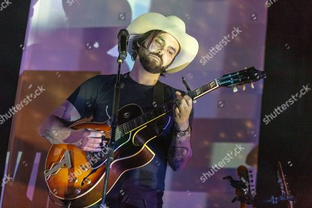 Editorial picture of Shakey Graves in concert at The Sylvee, Madison, USA - 28 Sep 2018