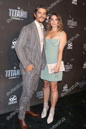 Brenton Thwaites and Chloe Pacey